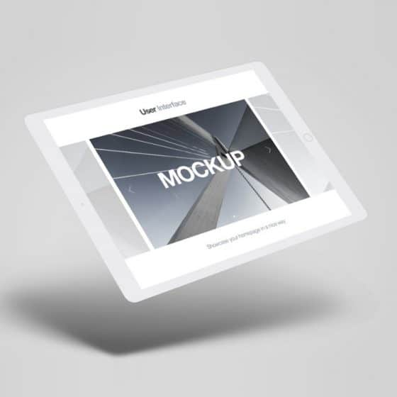 iPad Tablet Perspective Mockup